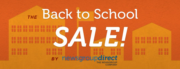 NewsgroupDirect Back To School Usenet Sale