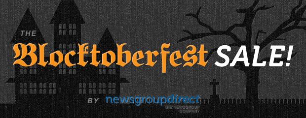 The Blocktoberfest Usenet Sale