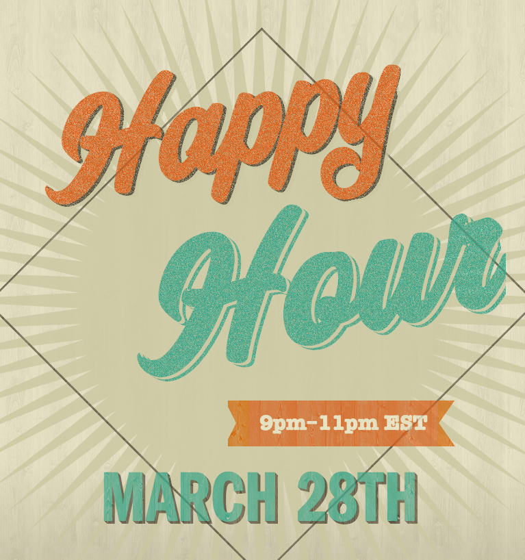 Happy Hour March 28