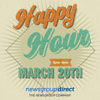 NewsgroupDirect Happy Hour