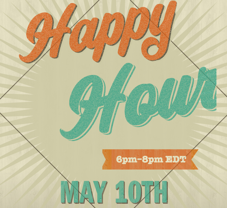 Happy Hour Sale for May 10