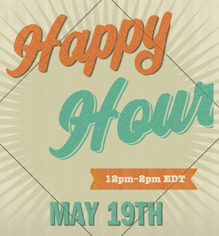 Happy Hour May 19th