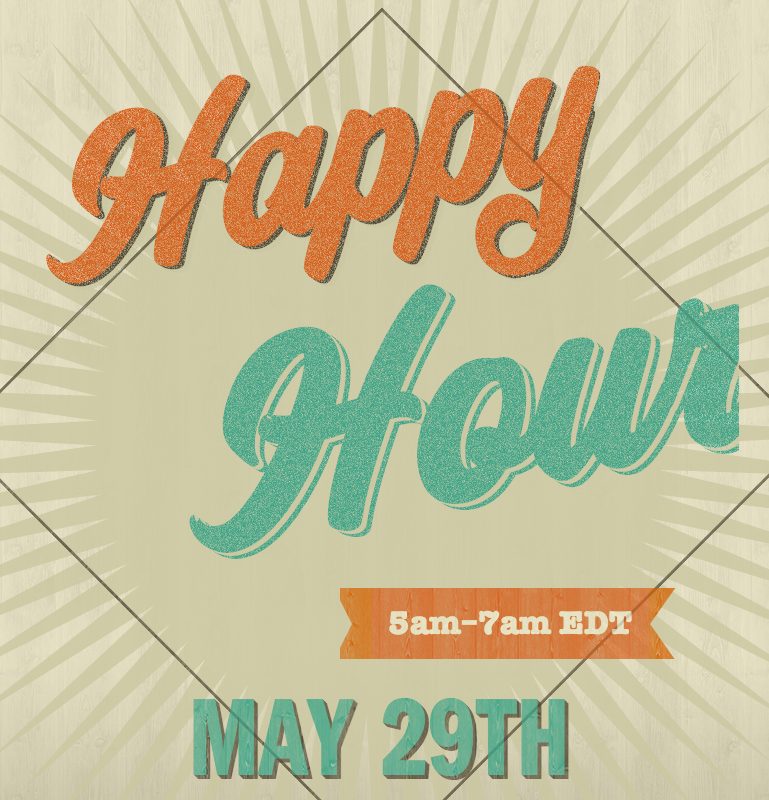 Happy Hour May 29