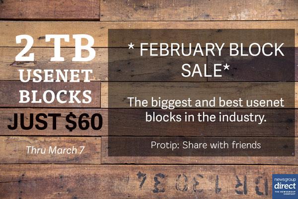 Usenet Sale