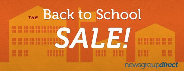 Back to School Usenet Sale