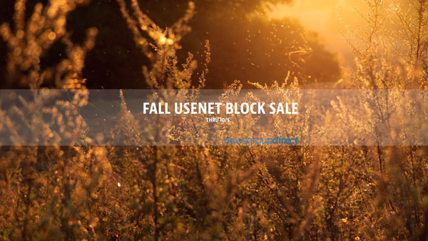Fall usenet block sale