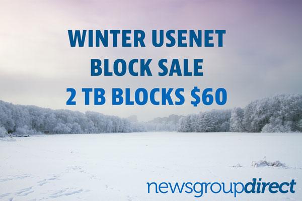 Winter Usenet Sale