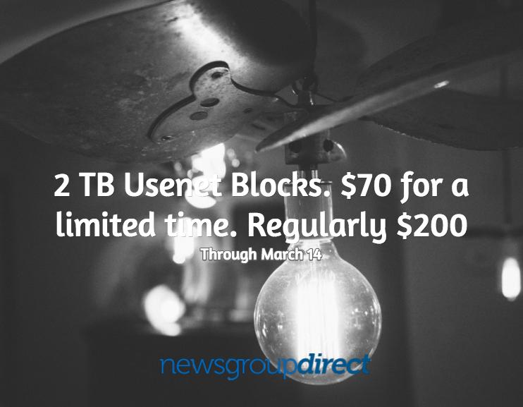 2 terabyte usenet blocks