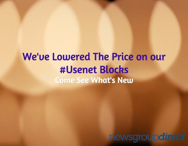 New low prices on usenet blocks