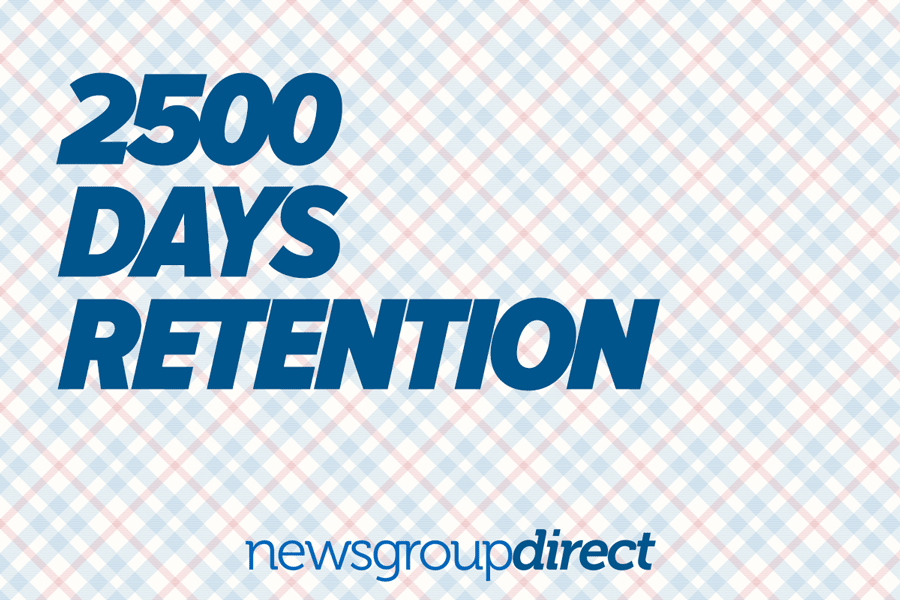 2500 Day Retention Sale