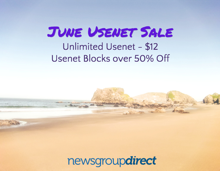June Usenet Sale