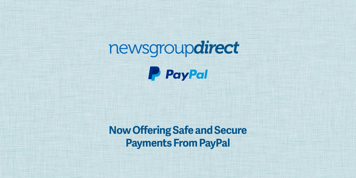 PayPal Payments for Usenet