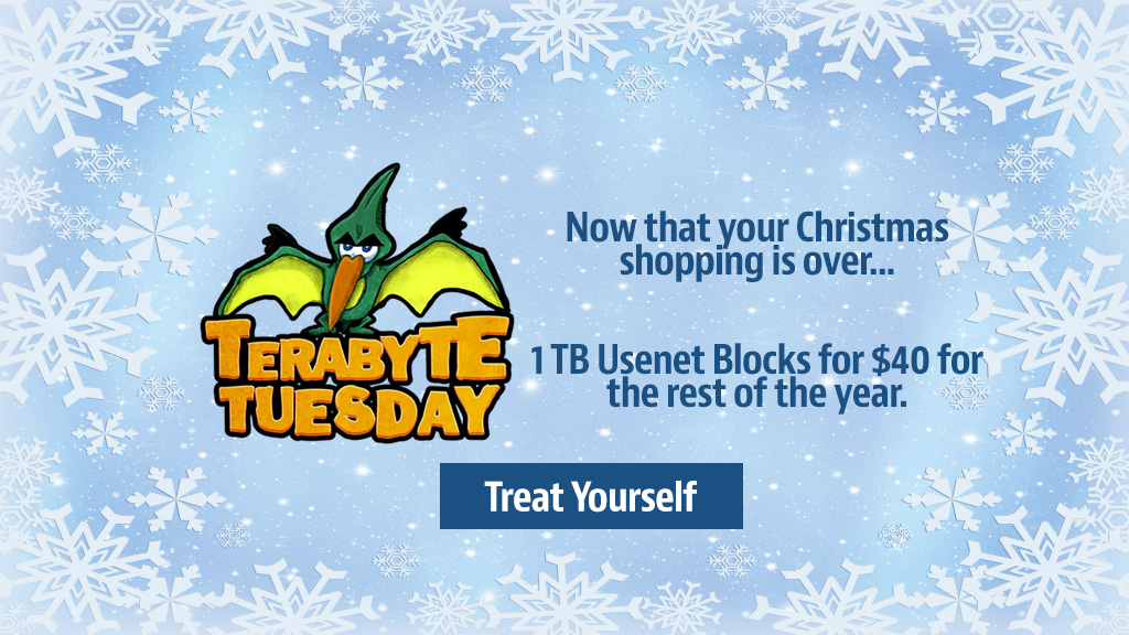 Terabyte Tuesday Holiday 2016