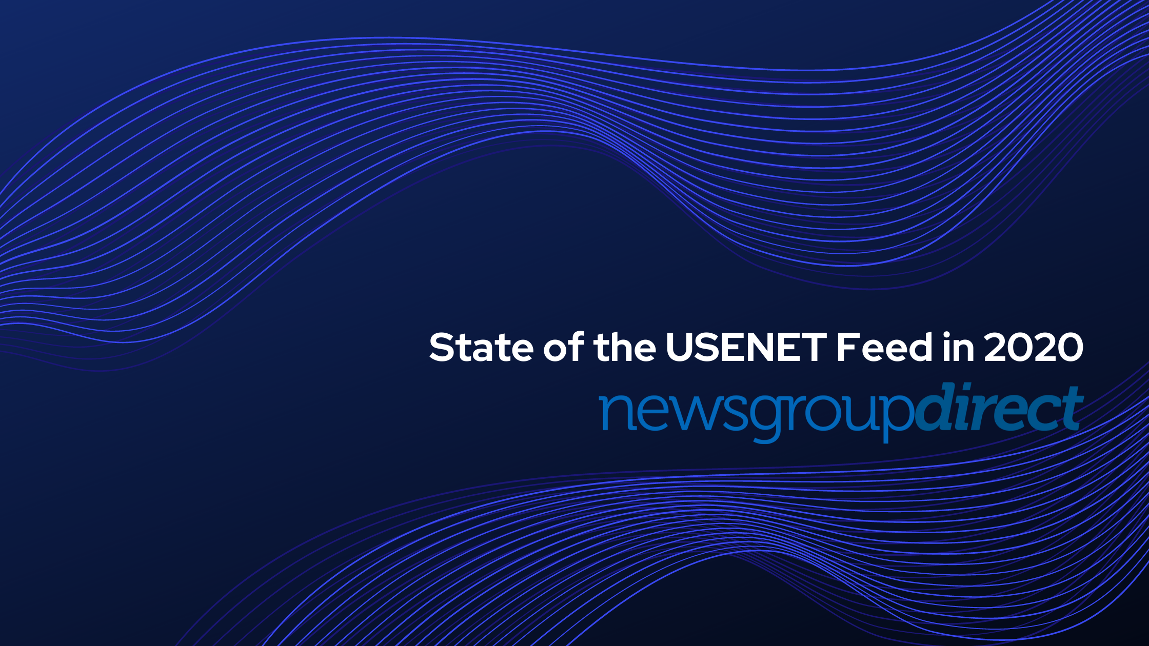 State of the USENET Feed in 2020